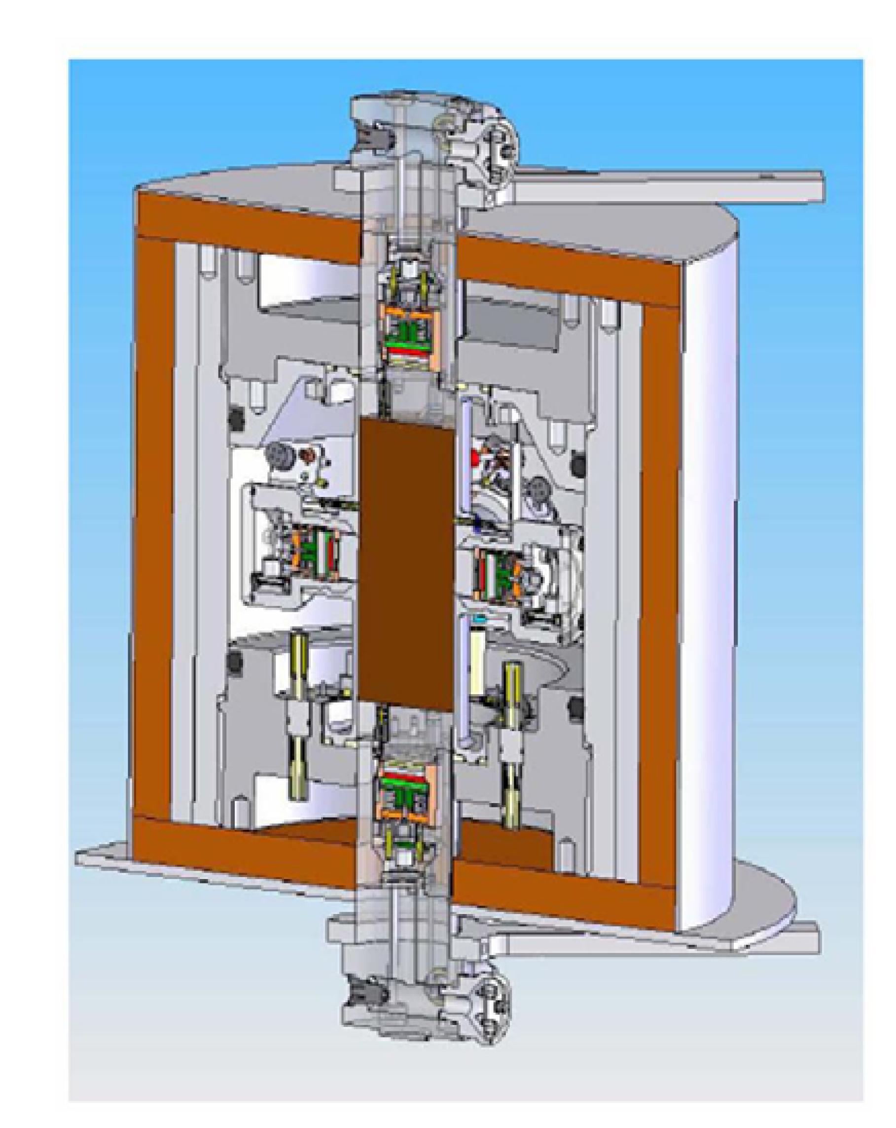 Triaxial Geophysical Imaging Cell (ErgoTech Ltd)