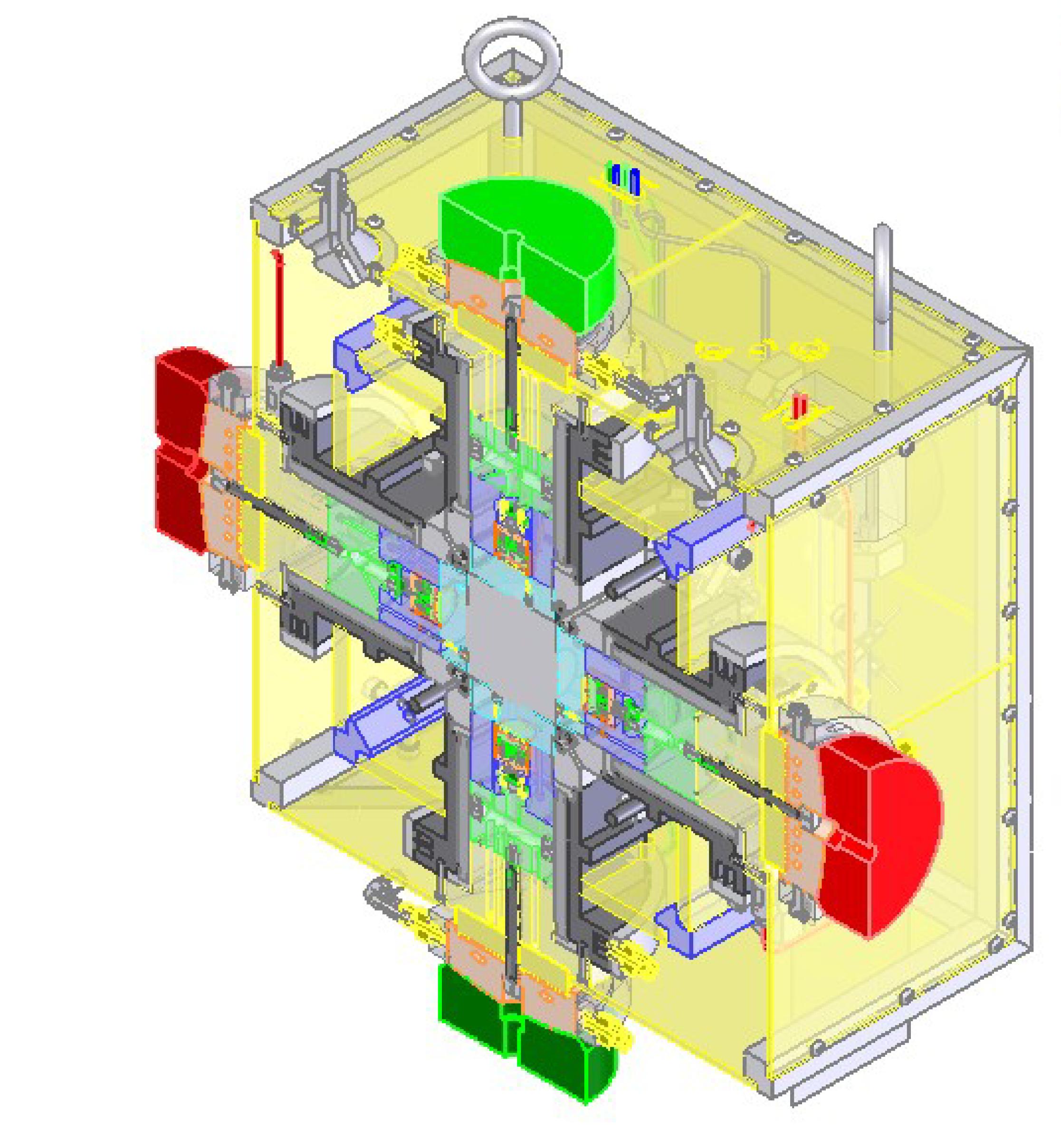True-Triaxial Geophysical Imaging Cell (ErgoTech Ltd)
