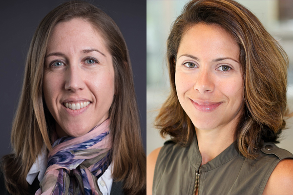 In the latest round of Canada Research Chair announcments, Engineering professors Penney Gilbert (left) and Marianne Hatzopoulou (right) were named as Tier 2 chairholders. The CRC program aims to help Canada attract and retain research leaders in engineering and the natural sciences, health sciences, humanities and social sciences.