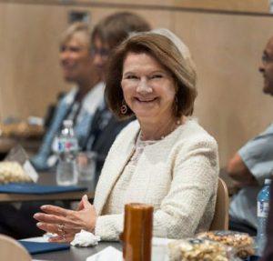 Dean Cristina Amon, at the Celebration of Leadership event on Wednesday, June 26, 2019. (credit: Lisa Sakulensky)