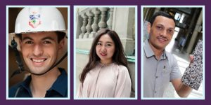 Grads to watch: Ernesto Diaz Lozano Patino, Gege Wen and Bishnu Gautam