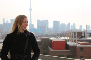 Professor Marianne Touchie (CivE, MIE) is working with Toronto Community Housing and The Atmospheric Fund to better understand how changes to energy use affect indoor environmental quality in multi-unit residential buildings. Toronto Public Health is collaborating to use their data to inform policy. (Photo: Kevin Soobrian)