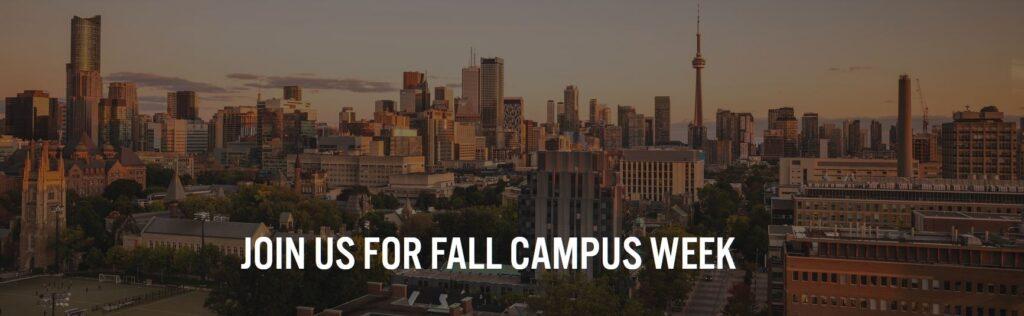 Fall Campus Week